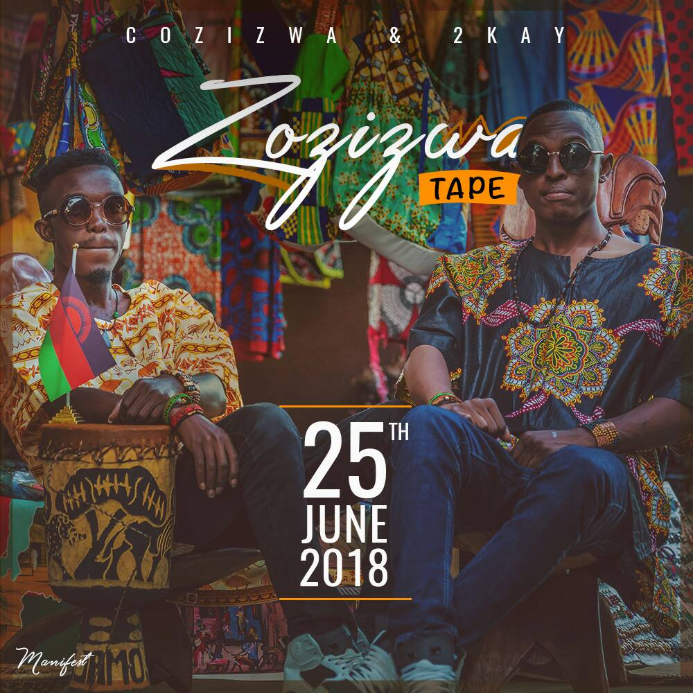 Cozizwa & 2 Kay - Zozizwa Tape (out 25th June)